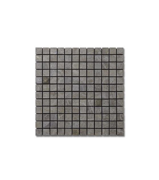 "Royal Grey Marble 1"" x 1"" 1"