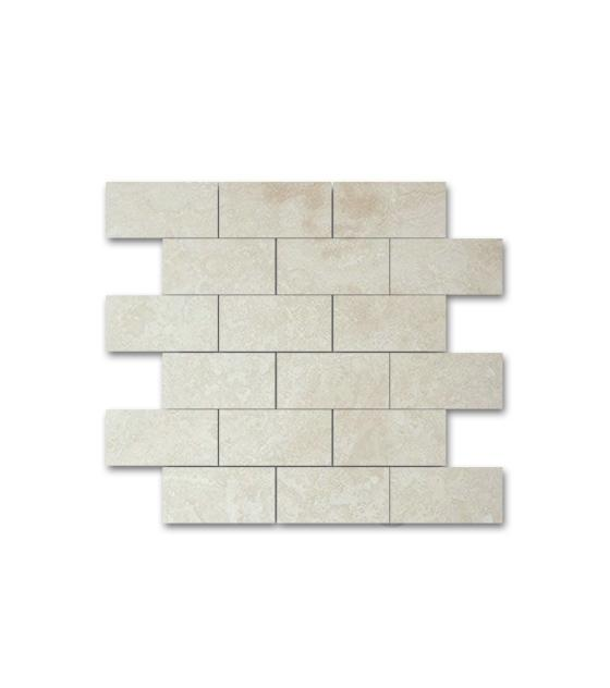"Ivory Travertine 2"" x 4"" 1"